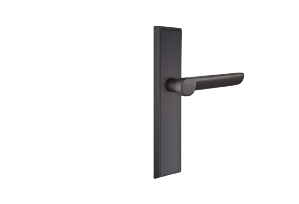 Emtek Configuration 6 Sandcast Rectangular 2X10 Multi Point Lock Trim Only