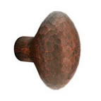 Emtek Hammered Egg Knob