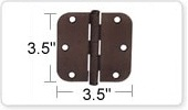 3.5 Inch Door Hinges