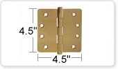 4.5 Inch Door Hinges