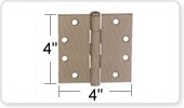 4 Inch Door Hinges