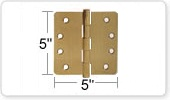 5 Inch Door Hinges