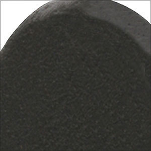 Emtek Flat Black Steel Finish