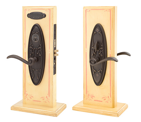 Emtek Da Vinci Mortise Sideplate Locks