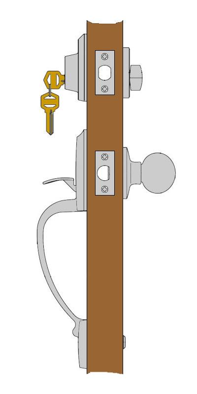 Kwikset Single Cylinder Handleset Function