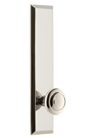 Grandeur Fifth Avenue Tall Plate with Soleil Knob