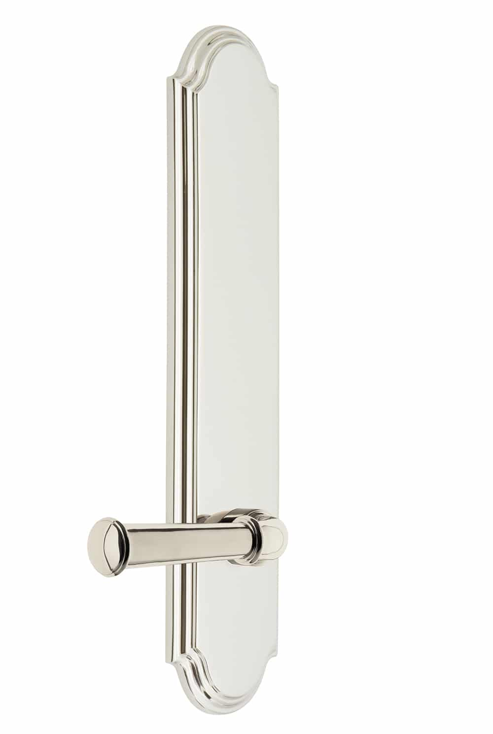 Grandeur Arc Tall Plate with Georgetown Lever