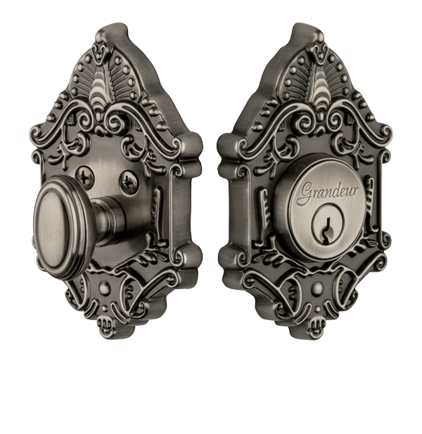 Grandeur Grande Victorian Deadbolt Single Cylinder Direct Door Hardware