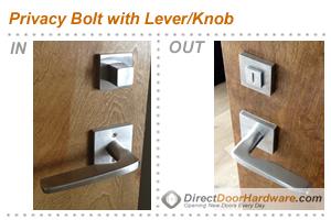 Privacy Door Hardware Lock Types