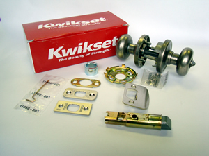 Kwikset Door Knobs Box Contents