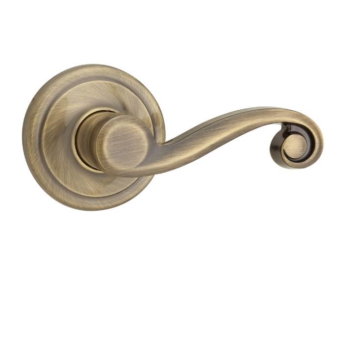 Kwikset Lido Antique Nickel, Kwikset Lido Antique Brass - Kwikset Door Hardware - Kwikset Signature Series Lido Lever