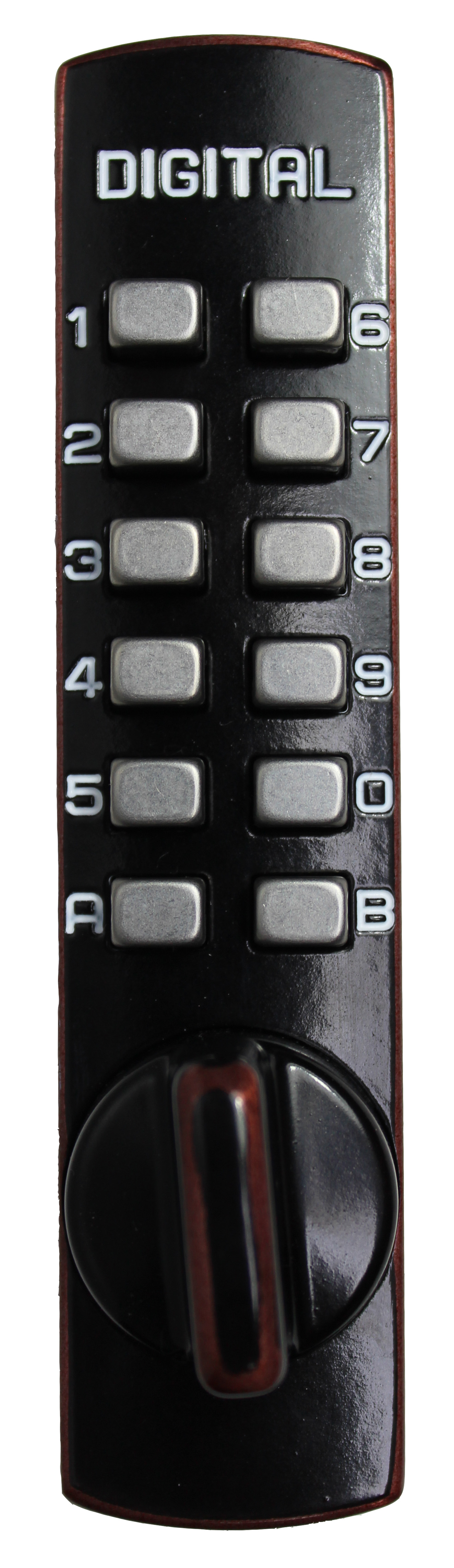 Lockey Style C150 Hook Bolt Keyless Digital Combination Lock