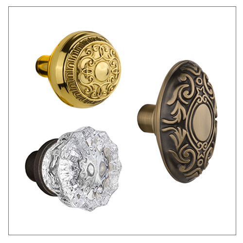 Nostalgic Warehouse Door Knobs