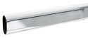 Sure-Loc Oval Closet Rod Polished Chrome