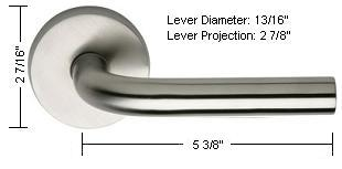 Omnia Style 11 Lever Dimensions