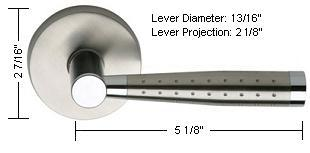 Omnia Style 19 Lever Dimensions