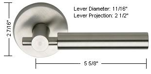 Omnia Style 32 Lever Dimensions