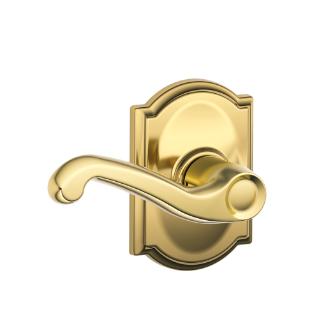 Schlage Flair Antique Brass