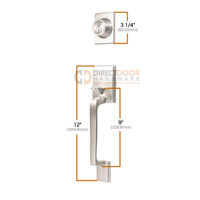 Sure-Loc Coronado Handle Set Measurements