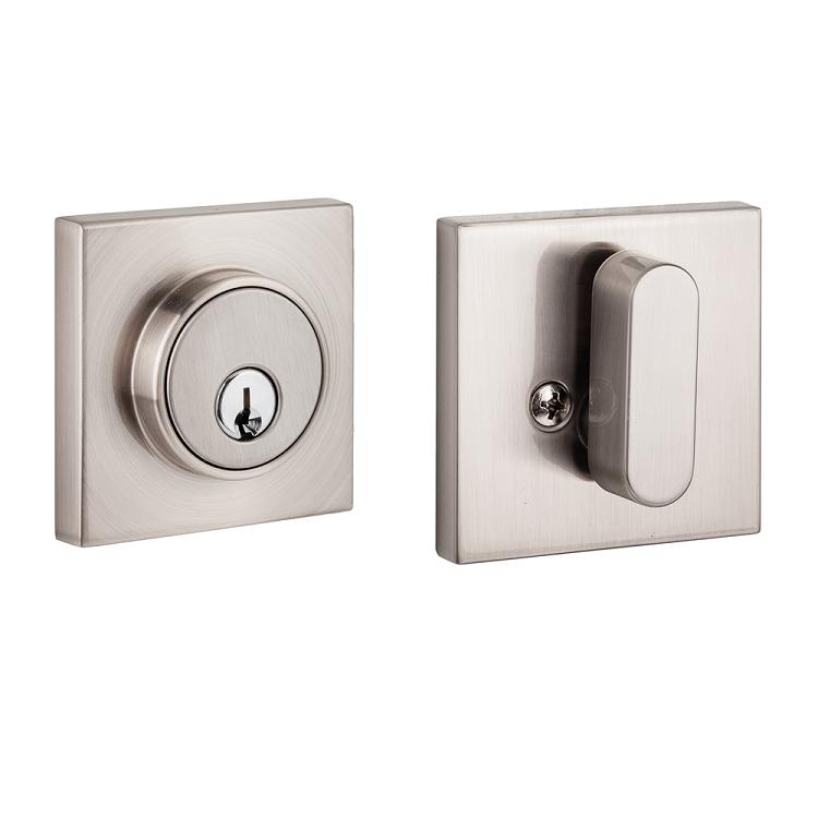 Sure Loc Modern Square Single Cylinder Deadbolt Direct Door Hardware