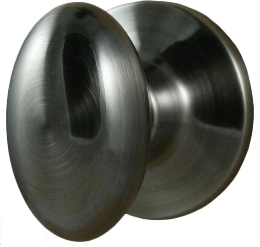 Satin Nickel; Antique Nickel ... - Egg Shaped Doorknobs From Emtek, Linnea And More.