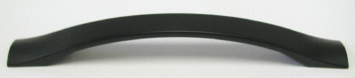 Top Knobs Nouveau III 5 1/16 Inch CC Cabinet Pull - Flat Black