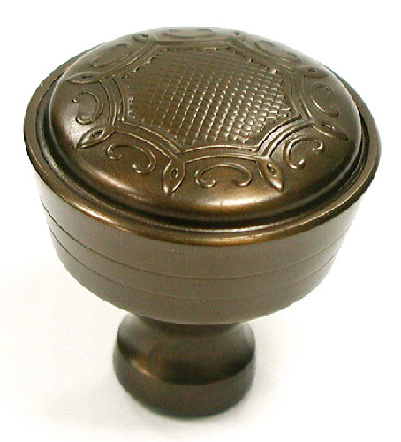 Top Knobs Edwardian 1 5/16 Inch Cabinet Knob - Oil Rubbed Bronze