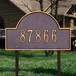 Arch Marker Address Plaques
