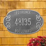 Florence Address Plaques