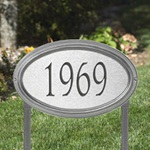 Concord Artisan Metal Address Plaques