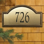 Providence Artisan Metal Address Plaques
