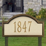 Providence Artisan Stone Address Plaques