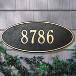 Oval Plaques