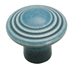 Amerock 1 3/8 Inch Distressed Blue Ceramic Cabinet Knob