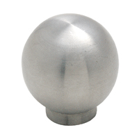 Amerock 1 3/16 Inch Stainless Steel Cabinet Knob
