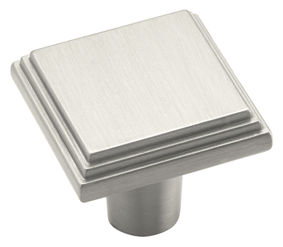 Amerock 1 1/16 Inch Satin Nickel Manor Cabinet Knob