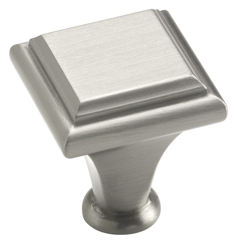 Amerock 1 Inch Satin Nickel Manor Cabinet Knob