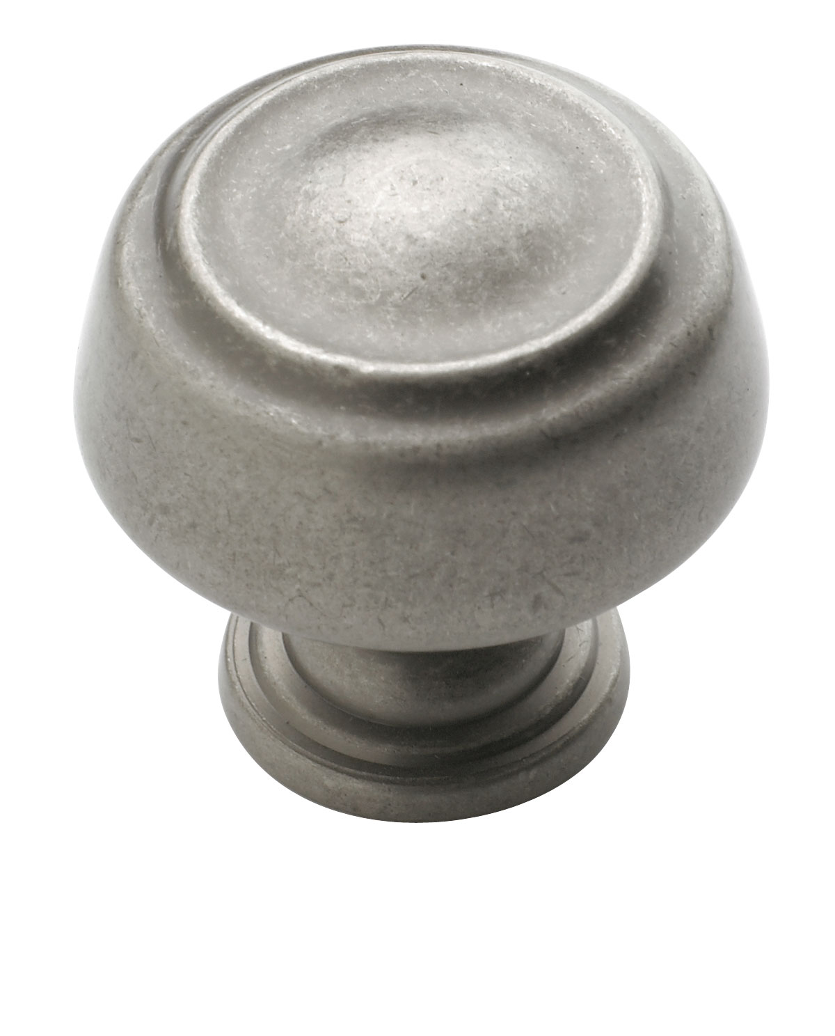 Amerock 1 3/16 Inch Weathered Nickel Kane Cabinet Knob