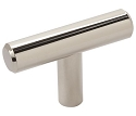 Amerock Bar Pulls 2 Inch Cabinet Knob - Polished Nickel