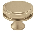 Amerock Oberon 1 3/4 Inch Cabinet Knob - Golden Champagne