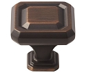 Amerock Wells 1 1/4 Inch  Cabinet Knob - Oil-Rubbed Bronze