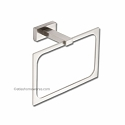 Atlas Homewares Axel Bath Collection Towel Ring in Brushed Nickel