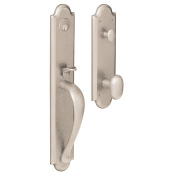 Baldwin Boulder Emergency Egress Full Escutcheon Handleset 6402