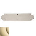 Baldwin Estate 2265 Arched Push Plate - 3.5