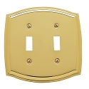 Baldwin 4766 Colonial Double Toggle Cover - 5.125