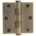 Baldwin Estate Series 3 Inch Door Hinge with Square Corner
