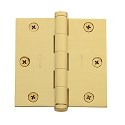 Baldwin Estate Series 3 1/2 Inch Door Hinge with Square Corner