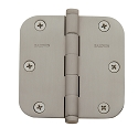 Baldwin Estate Series 3 1/2 Inch Door Hinge with 5/8 Inch Radius Corner