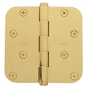 Baldwin Estate Series 4 Inch Door Hinge with 5/8 Inch  Radius Corner