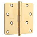 Baldwin Estate Series 4 Inch Door Hinge with 1/4 Inch Radius Corner